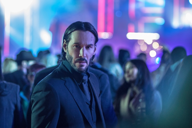 An image of a scene from John Wick Chapter 2, featuring Keanu Reeves.