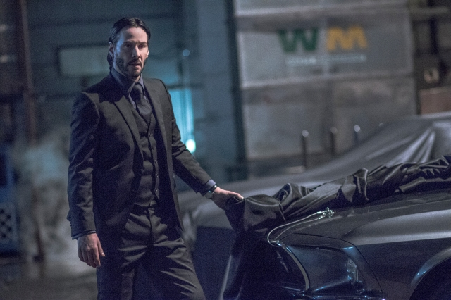 Image of a scene from the Lionsgate film John Wick Chapter 2