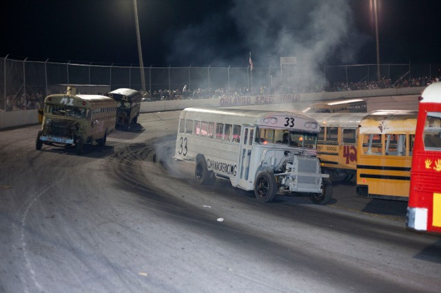 An image of a scene from the documentary Smash Motorized Mayhem