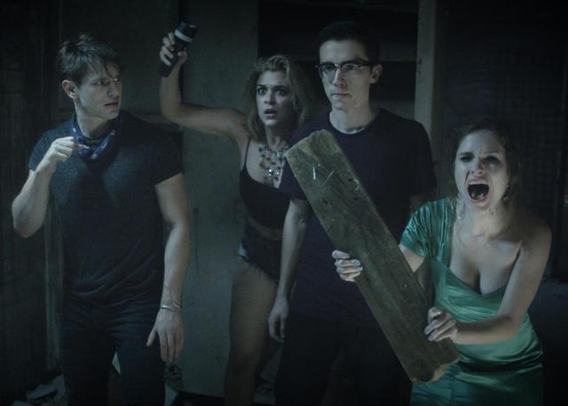Still image of a scene from the teen horror movie The Honor Farm.