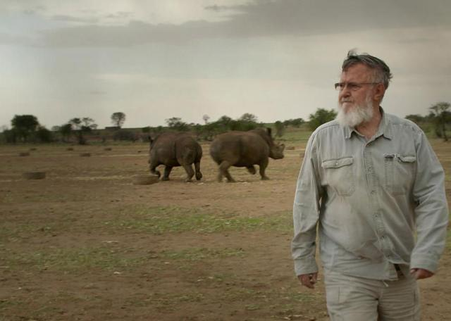 An image from the documentary film Trophy.